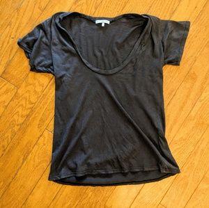 Brown James Perse t-shirt 2